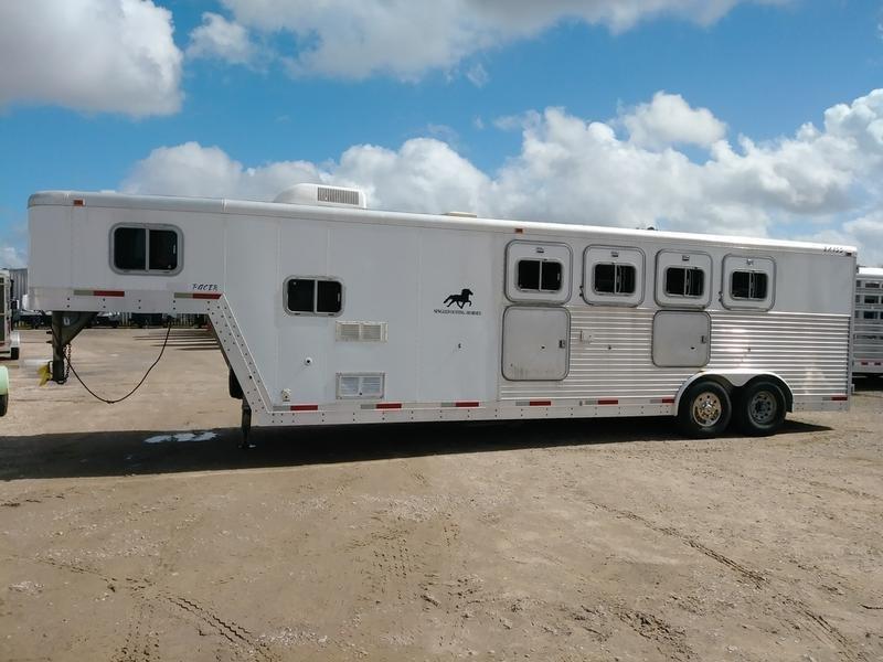 1999 Exiss 4H8SW 4 horse 8' Shortwall in Ashburn, VA