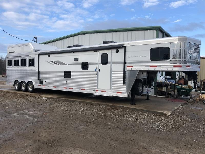 2019 SMC Trailers 8' WIDE 18' LQ SL8418SBBSRB