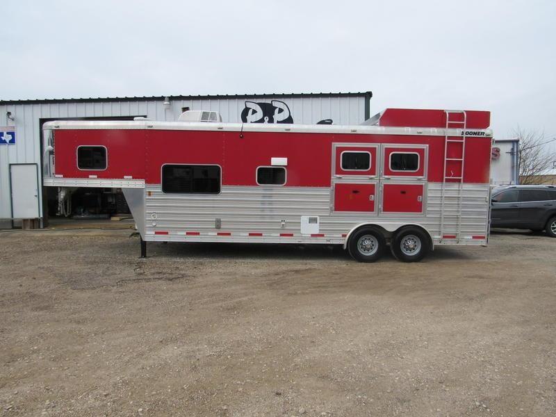 2013 Sooner Sierra 2 Horse 13' Shortwall