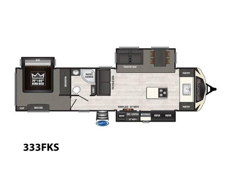 2018 Keystone RV Sprinter Limited 333FKS