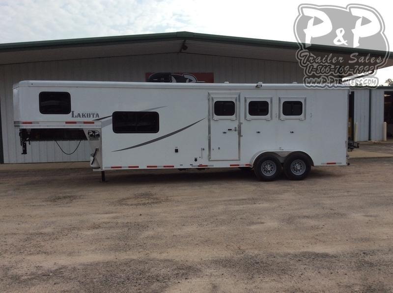 2020 Lakota Colt Edition AC39 3 Horse Slant Load Trailer 9 FT LQ