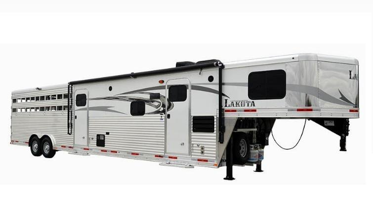 2019 Lakota Charger LE8X11SR 11ft LQ Livestock Trailer