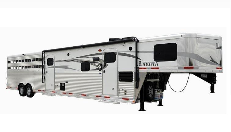 2019 Lakota Charger LE8X11SR 11ft LQ Livestock Trailer