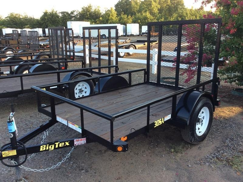 2018 Big Tex 30SA-08BK4RG 5x8 w/ Ramp Gate