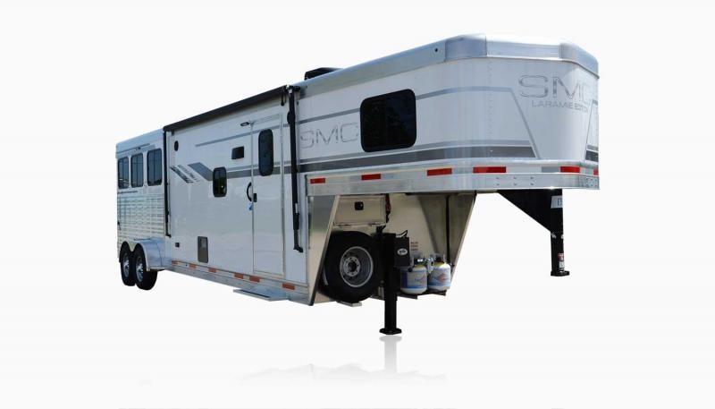2019 SMC Horse Trailers SLX10RK LARAMIE 3 Horse 10' LQ Horse Trailer Slant