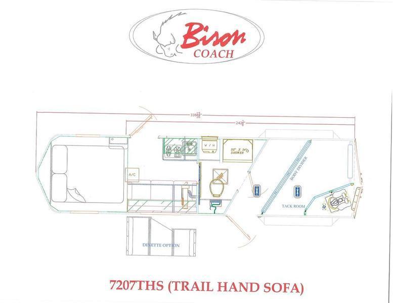 2019 Bison Trail Hand 7207THS