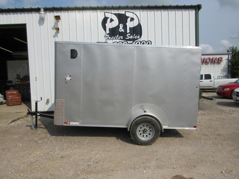 2019 Carry-On Trailer 6X12 CGRBN Cargo
