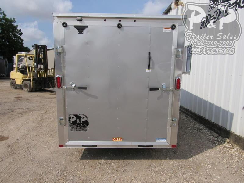 2020 Carry-On 6X12 CGRBN Cargo 12 ft Enclosed Cargo Trailer