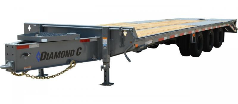 2019 Diamond C Trailers PX312 Pintle Hitch Equipment Trailer