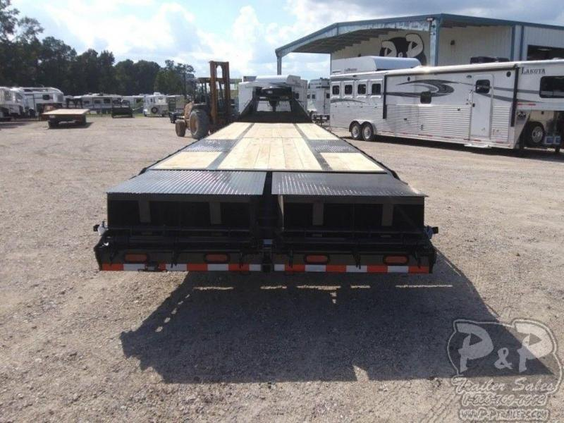 2019 P and P PPDT355X102HDMRLP 40' Flatbed Trailer
