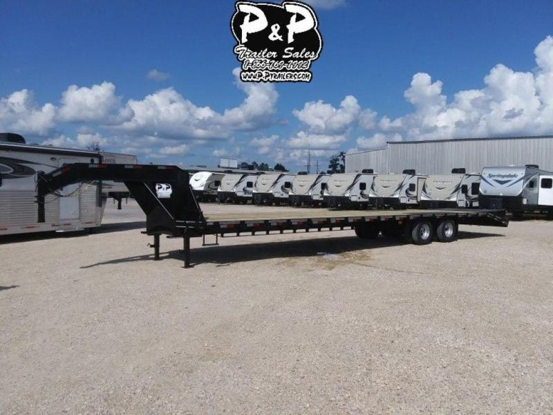2019 P and P PPDT355X102HDMRLP 40' Flatbed Trailer in Ashburn, VA