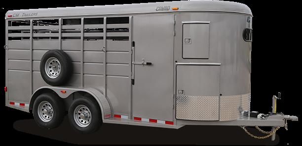 2019 CM Combo 3 Horse Trailer Straight in Ashburn, VA