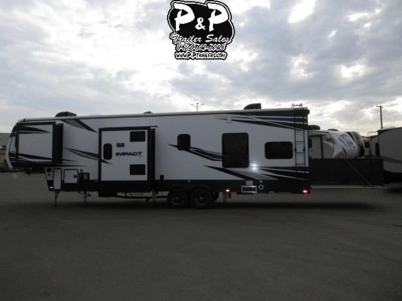 2018 Keystone RV Impact 367 39' Fifth Wheel Campers LQ