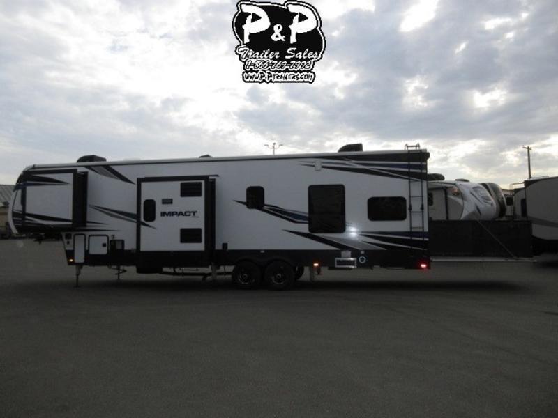 2018 Keystone RV Impact 367 39' Fifth Wheel Campers LQ
