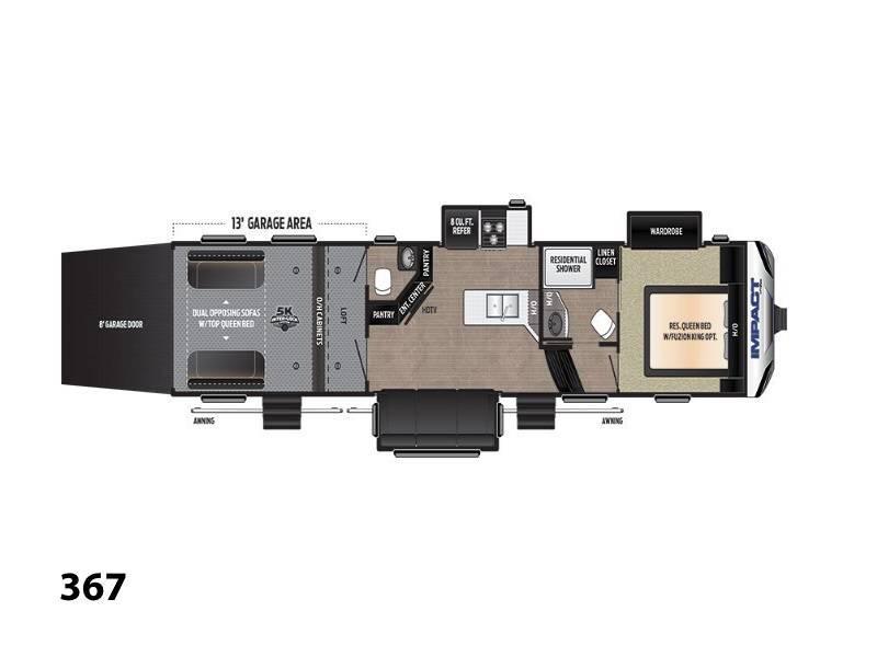 2018 Keystone RV Impact 367