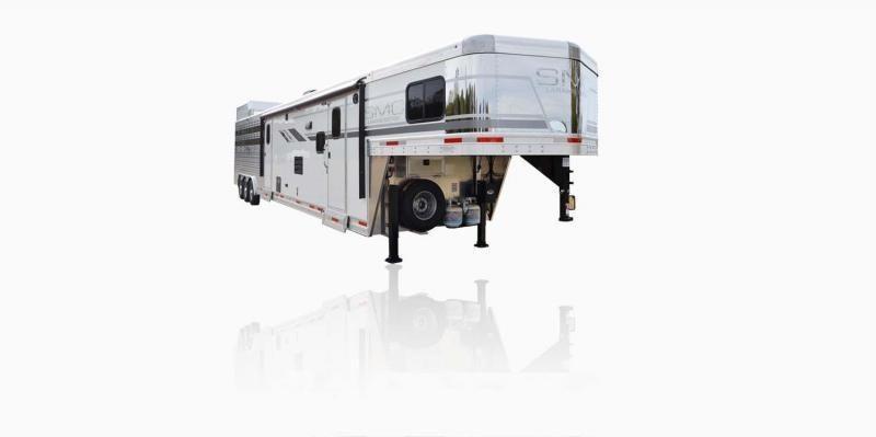 2019 SMC Horse Trailers SLE81613SSRT LARAMIE 16 LQ Livestock Trailer