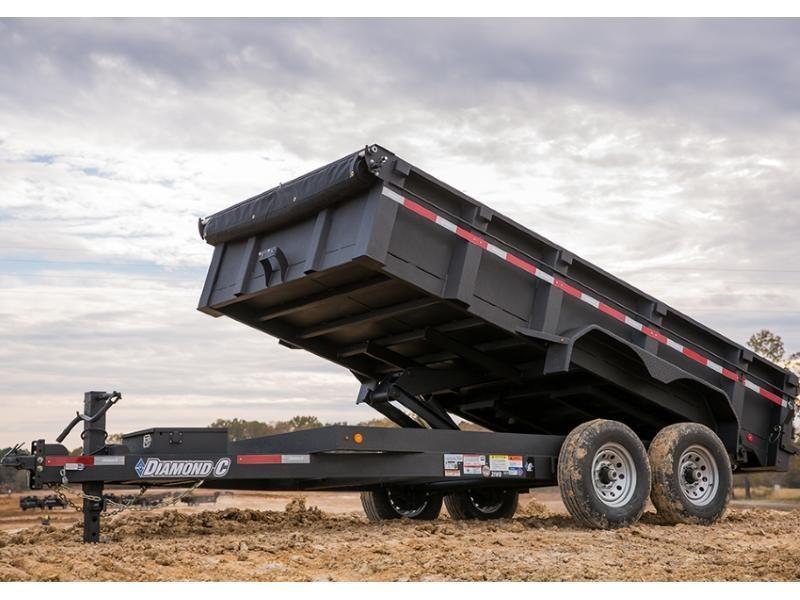 "2018 Diamond C 21WD 16' x 82"""