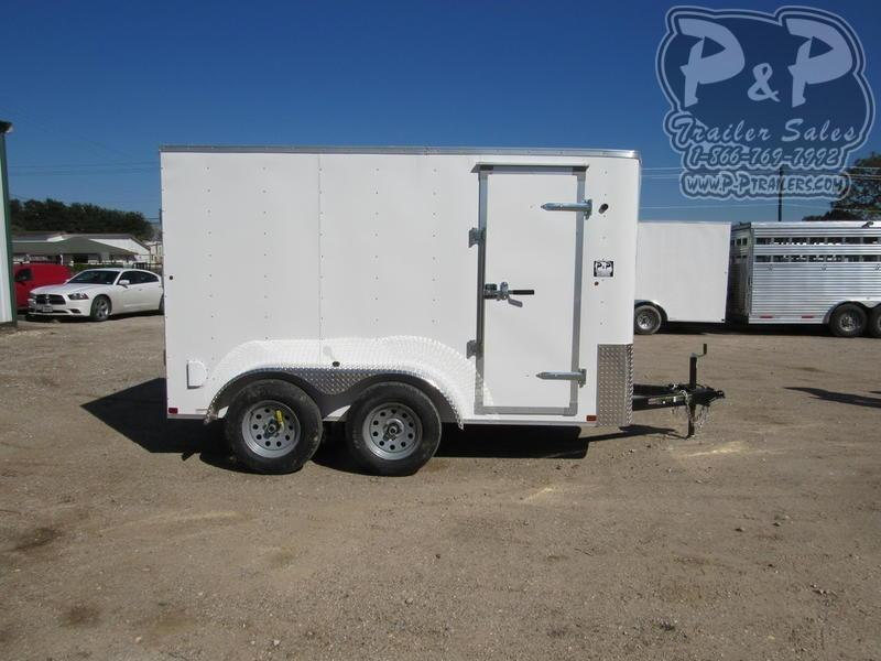 2020 Carry-On Cargo Trailers 6X12CGRBN7K 12 ft Enclosed Cargo Trailer