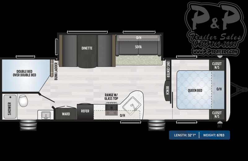 "2020 Keystone RV Springdale 282BH 32'1"" ft Travel Trailer RV"