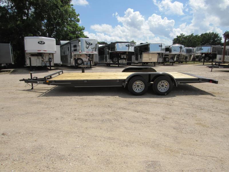 2019 Stagecoach 83 x 20 Wood Floor Car Hauler 20 ft Utility Trailer in Ashburn, VA