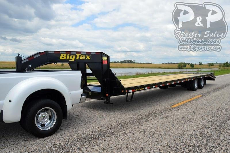 2020 Big Tex Trailers 102 X255GN 30 ft Flatbed Trailer