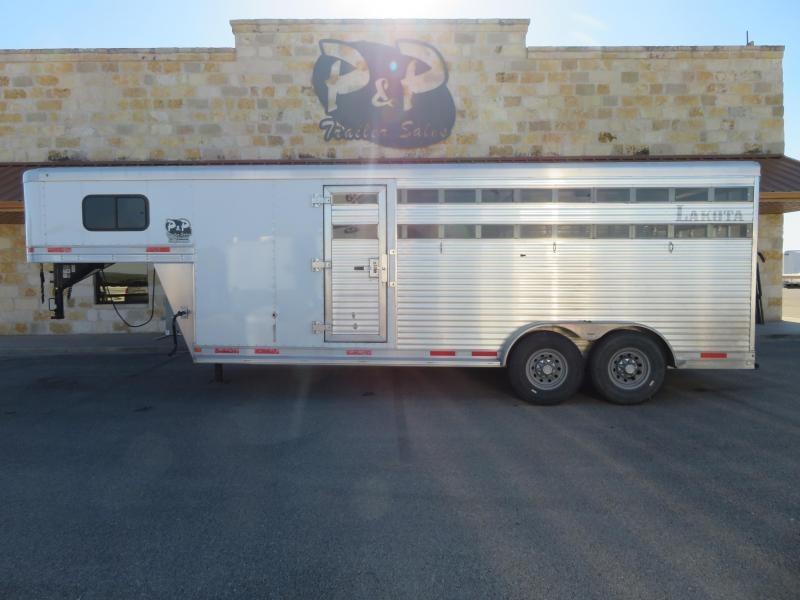 2018 Lakota 20ft Stock Combo Livestock Trailer