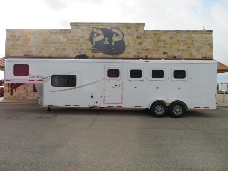 2020 Lakota AC49 4 Horse Trailer 9 LQ Slant