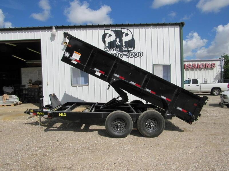 "2019 Big Tex Trailers 83""x14' Tandem Dump 7SIRPD"