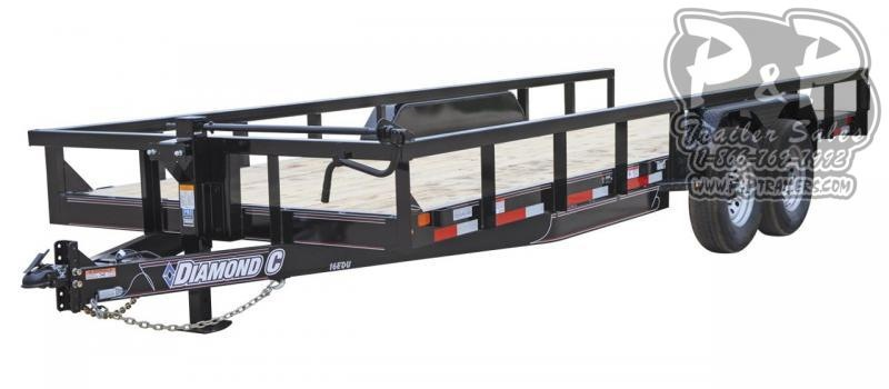 2019 Diamond C Trailers EDU Utility Trailer