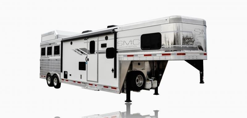 2019 SMC Horse Trailers SL8X11SFK LARAMIE 3 Horse 11' LQ Horse Trailer Slant