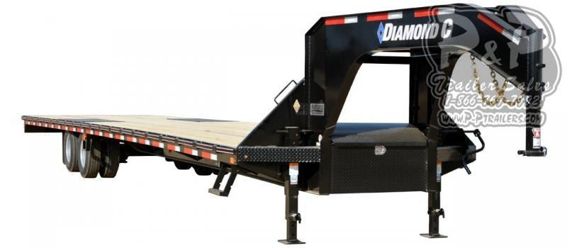 2019 Diamond C Trailers FMAX210 Gooseneck Equipment Trailer