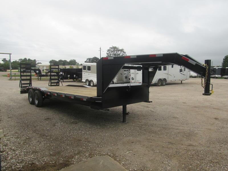 """2019 P and P 102 X 24 EQGN-TA7 24"""" Flatbed Trailer"""
