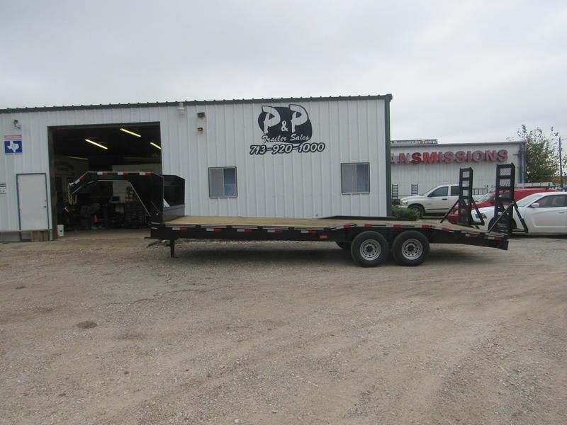 "2019 P and P 102 X 24 EQGN-TA7 24"" Flatbed Trailer in Ashburn, VA"