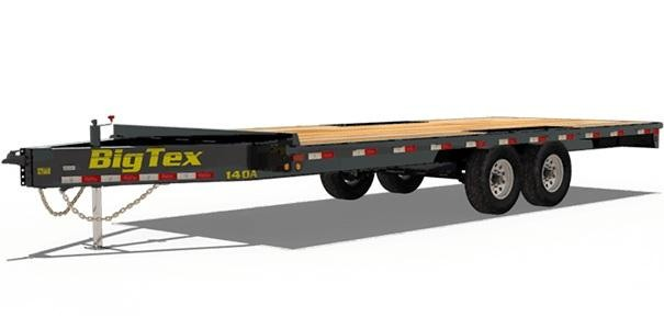 2019 Big Tex Trailers 14OA-20 Equipment Trailer in Beirne, AR