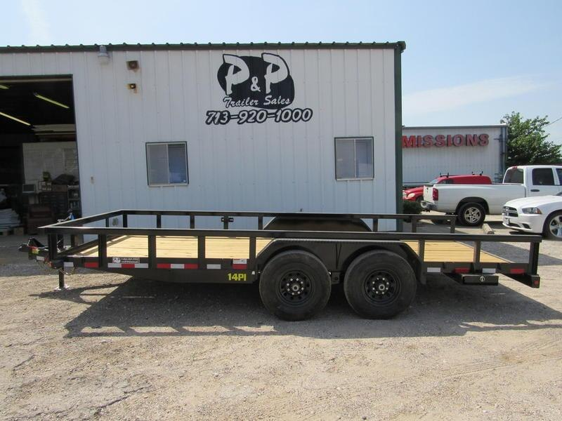 2019 Big Tex Trailers 7' x 18' HD TA