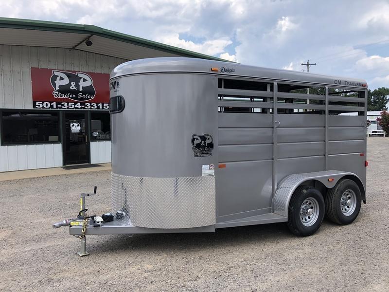 "2019 CM Trailers Dakota 2-Horse 14 ft. 6' 8"" W x 7' T"