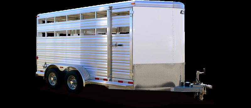 2019 CM Stocker AL-V Livestock Trailer