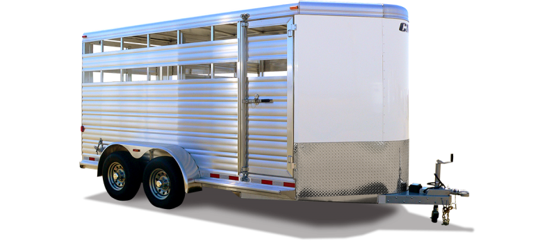 2019 CM Stocker AL-V Livestock Trailer