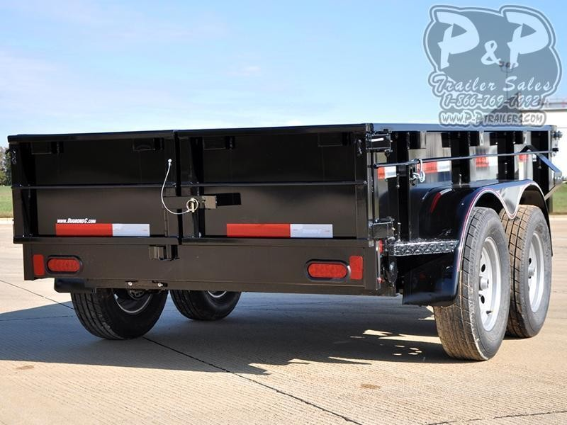 2019 Diamond C Trailers 41ED 10' x 60 10 ft Dump Trailer