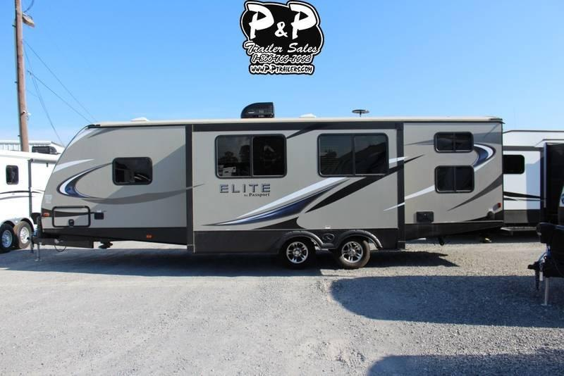 2018 Keystone Passport Elite 29DB 33.75' Travel Trailer LQ