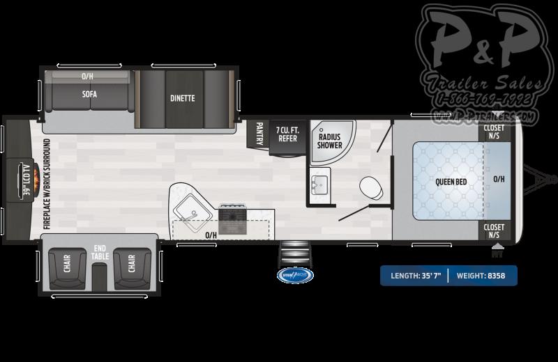 "2020 Keystone RV Springdale 311RE 35'7"" ft Travel Trailer RV"
