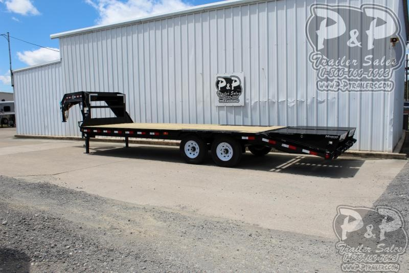 2020 PJ Trailers PJDT20+5x102HDMRLP 25 ft Flatbed Trailer