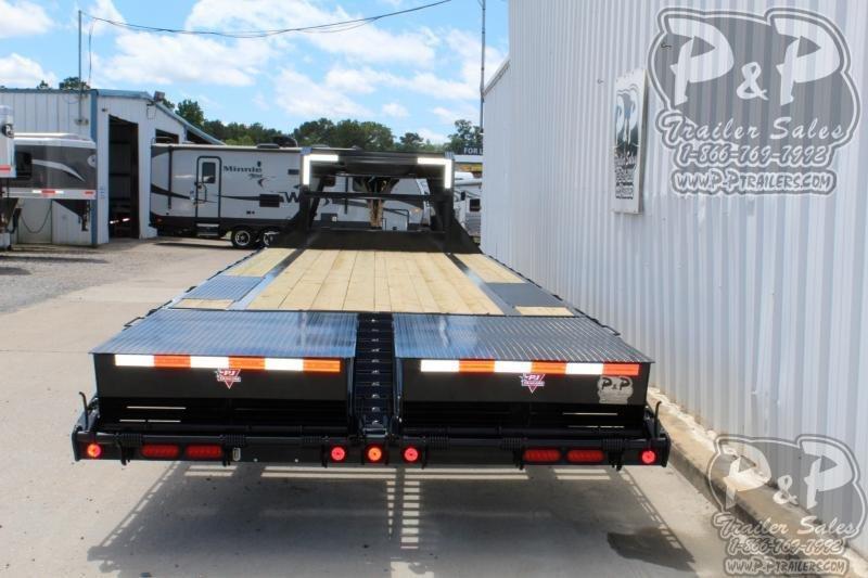 2020 PJ Trailers PJDT20+5x102HDMRLP 25 ft Flatbed Trailer