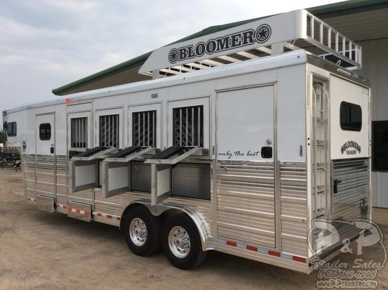 2019 Bloomer Trailers 4 Horse Super Tack