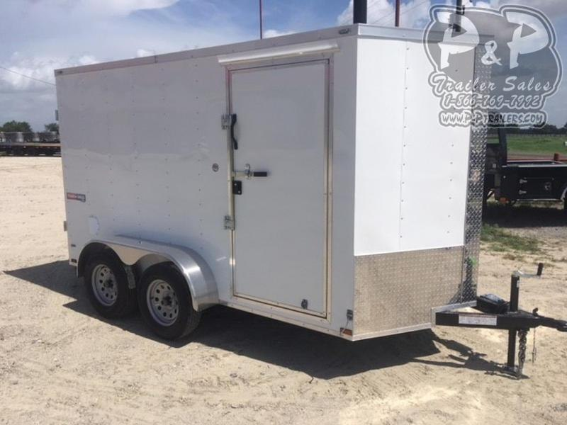 2020 Lark VT612TA 12 ft Enclosed Cargo Trailer
