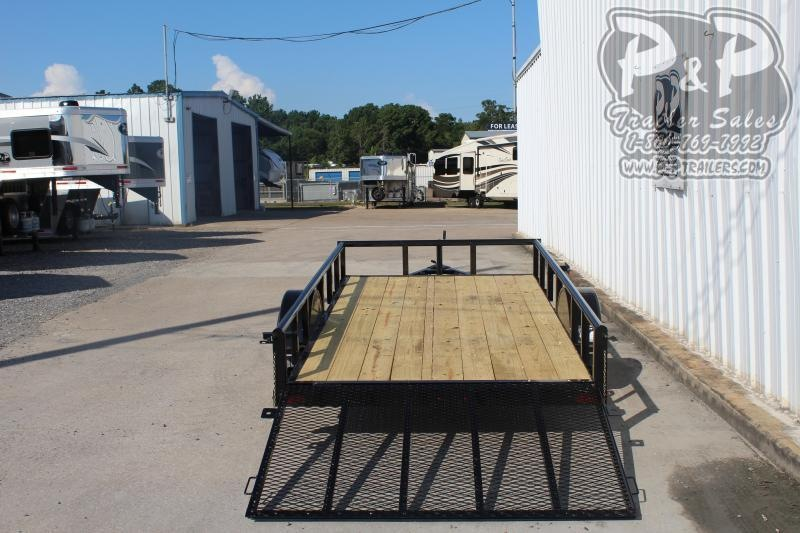 2019 P and P PPSA12X72LDRGPT 12 ft Utility Trailer