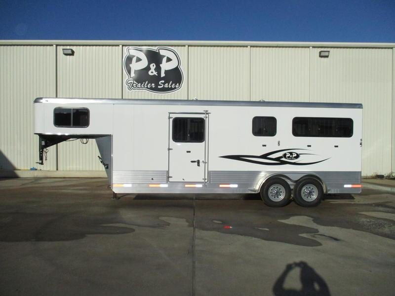 2019 P & P Straight Load Gooseneck 2+1 Horse in Ashburn, VA
