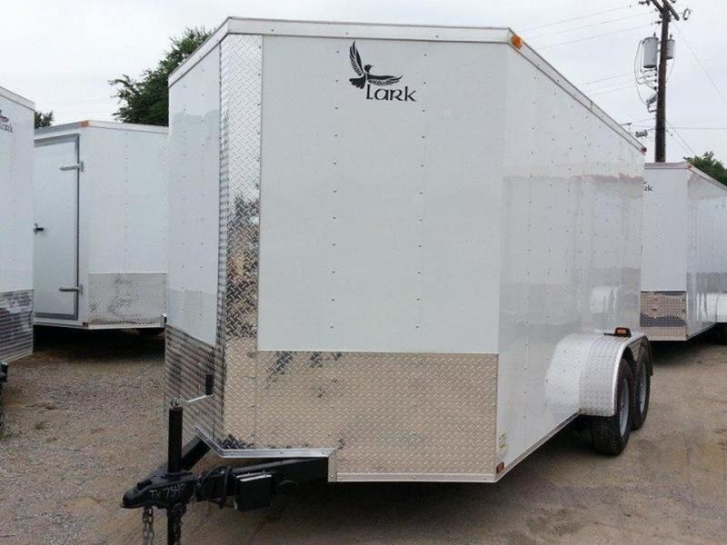 2019 Lark United VT714TA 7'W 14' Long Tandem Axle