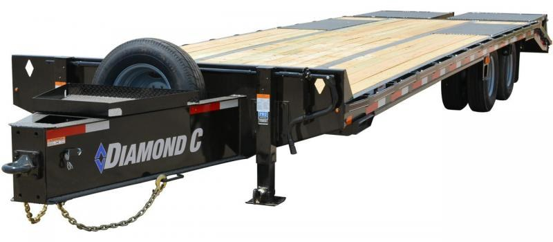 2019 Diamond C Trailers PX210 Pintle Hitch Equipment Trailer