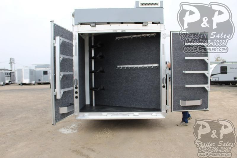 2019 Lakota Charger C8415BBRSL 4 Horse Slant Load Trailer 15 FT LQ With Slides w/ Ramps